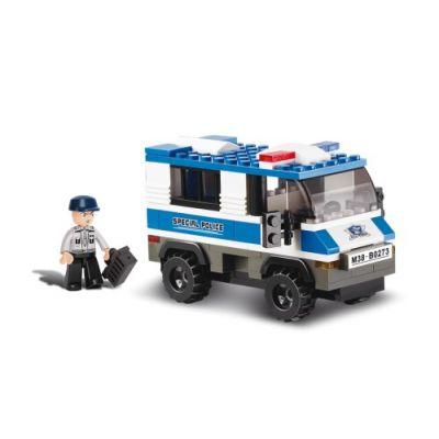 SLUBAN Τουβλάκια Police, Prisoner Trasporterer M38-B0273, 126τμχ - SLUBAN 17939