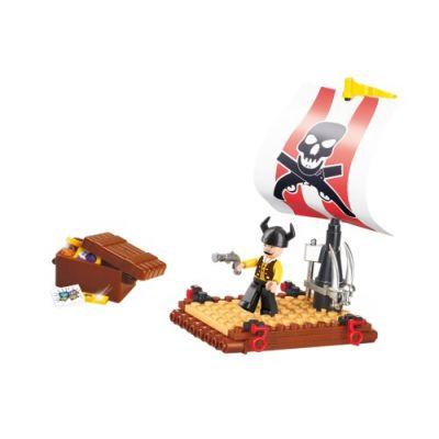 SLUBAN Τουβλάκια Pirate, Pirate Raft M38-B0277, 64τμχ - SLUBAN 17941