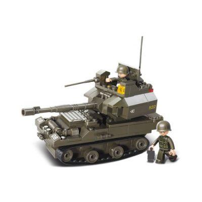 SLUBAN Τουβλάκια Army, Tank M38-B0282, 178τμχ - SLUBAN 17942