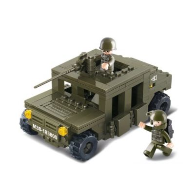 SLUBAN Τουβλάκια Army, Armoured Car M38-B0297, 175τμχ - SLUBAN 17944