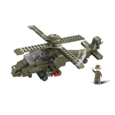 SLUBAN Τουβλάκια Army, Attack Helicopter M38-B0298, 199τμχ - SLUBAN 17945