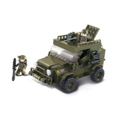 SLUBAN Τουβλάκια Army, SUV M38-B0299, 217τμχ - SLUBAN 17946