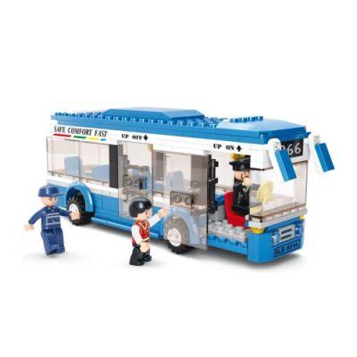 SLUBAN Τουβλάκια Town, City Bus M38-B0330, 235τμχ - SLUBAN 17950