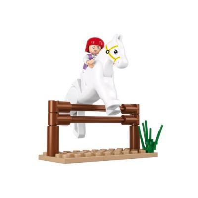 SLUBAN Τουβλάκια Girls Dream, Jumping Horse M38-B0517, 20τμχ - SLUBAN 17959