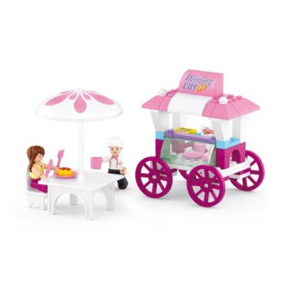 SLUBAN Τουβλάκια Girls Dream, Food Stall M38-B0522, 78τμχ - SLUBAN 17964