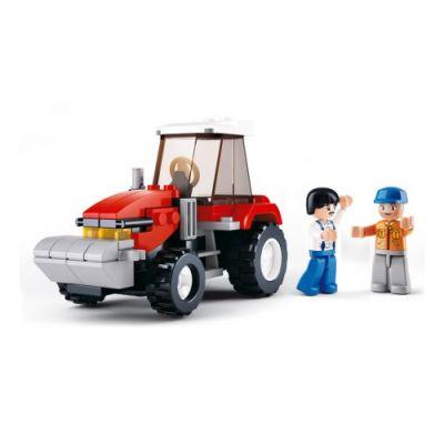 SLUBAN Τουβλάκια Town Farm, Tractor M38-B0556, 102τμχ - SLUBAN 17970