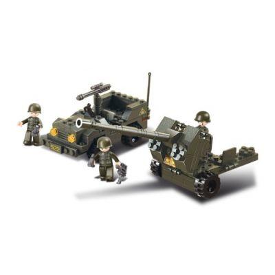 SLUBAN Τουβλάκια Army, Anti-Tank Gun M38-B5900, 138τμχ - SLUBAN 17976