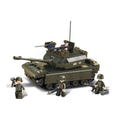 SLUBAN Τουβλάκια Army, Tank M38-B6500, 312τμχ - SLUBAN 17978