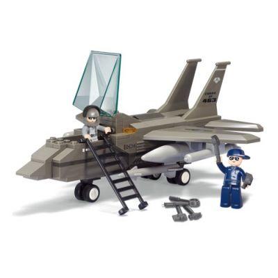 SLUBAN Τουβλάκια Army, Fighter Jet M38-B7200, 142τμχ - SLUBAN 17979