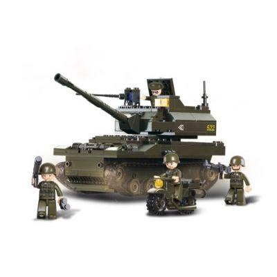 SLUBAN Τουβλάκια Army, Tank M38-B9800, 258τμχ - SLUBAN 17980