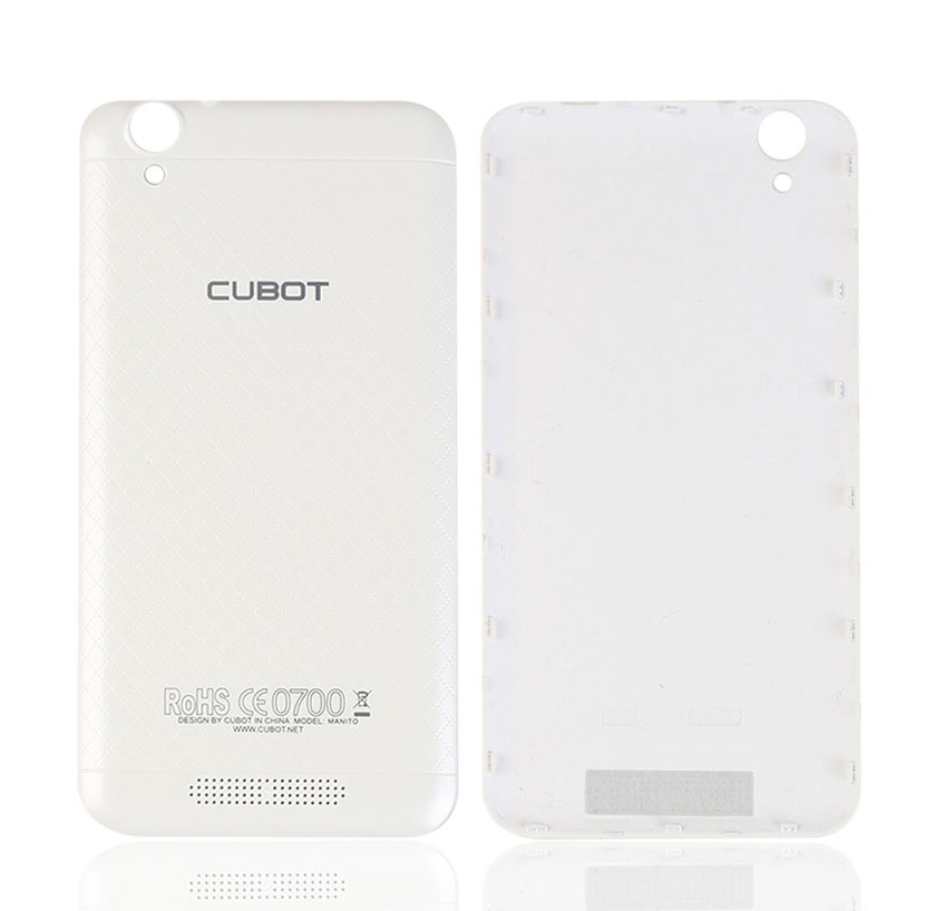 CUBOT Battery Cover για Smartphone Manito, White - CUBOT 13439