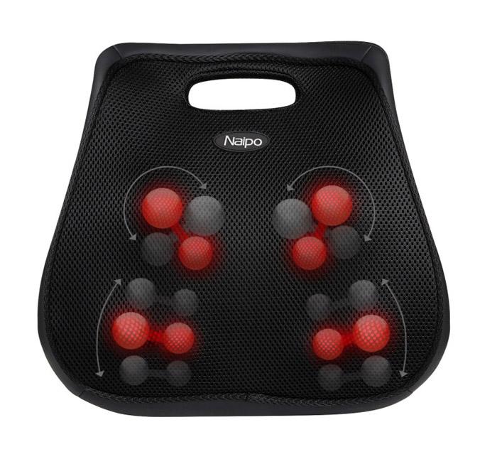 NAIPO Συσκευή μασάζ πλάτης MGBK-136D, με λειτουργία θερμότητας - NAIPO 17726