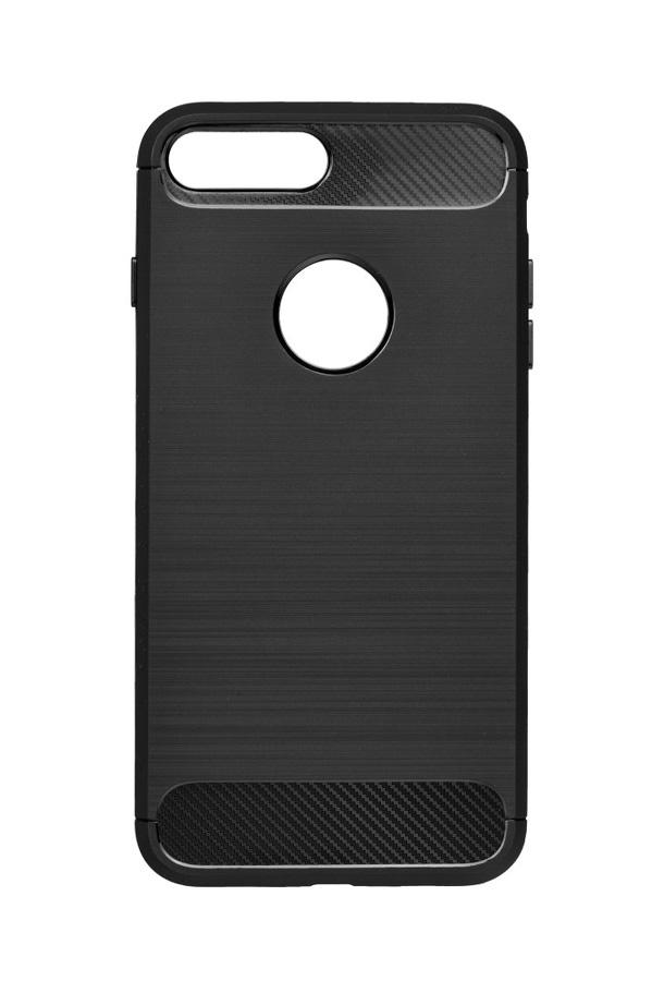 POWERTECH Θήκη Carbon Flex για iPhone 7/8 Plus, μαύρη - POWERTECH 19080