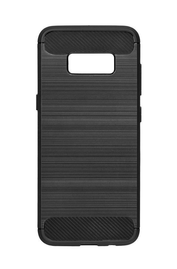 POWERTECH Θήκη Carbon Flex για Samsung Galaxy S9, μαύρη - POWERTECH 19082