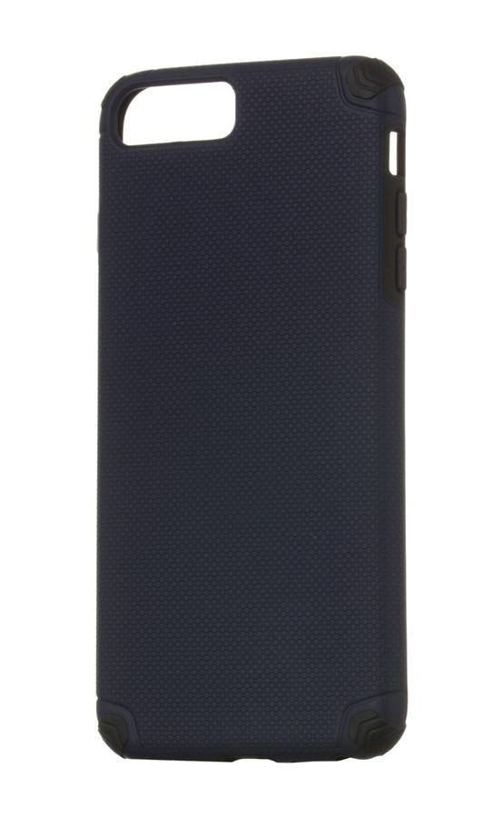 POWERTECH Θήκη Hybrid Light για iPhone 8 Plus/7 Plus, Navy - ROSWHEEL 19103