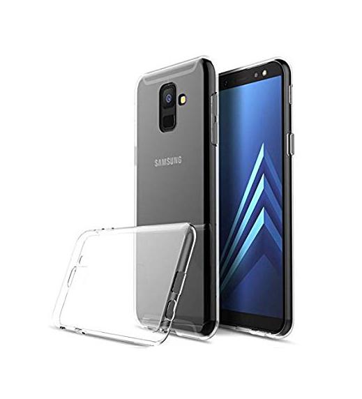 POWERTECH Θήκη Ultra Slim για Samsung A6 Plus 2018, διάφανη - POWERTECH 21515