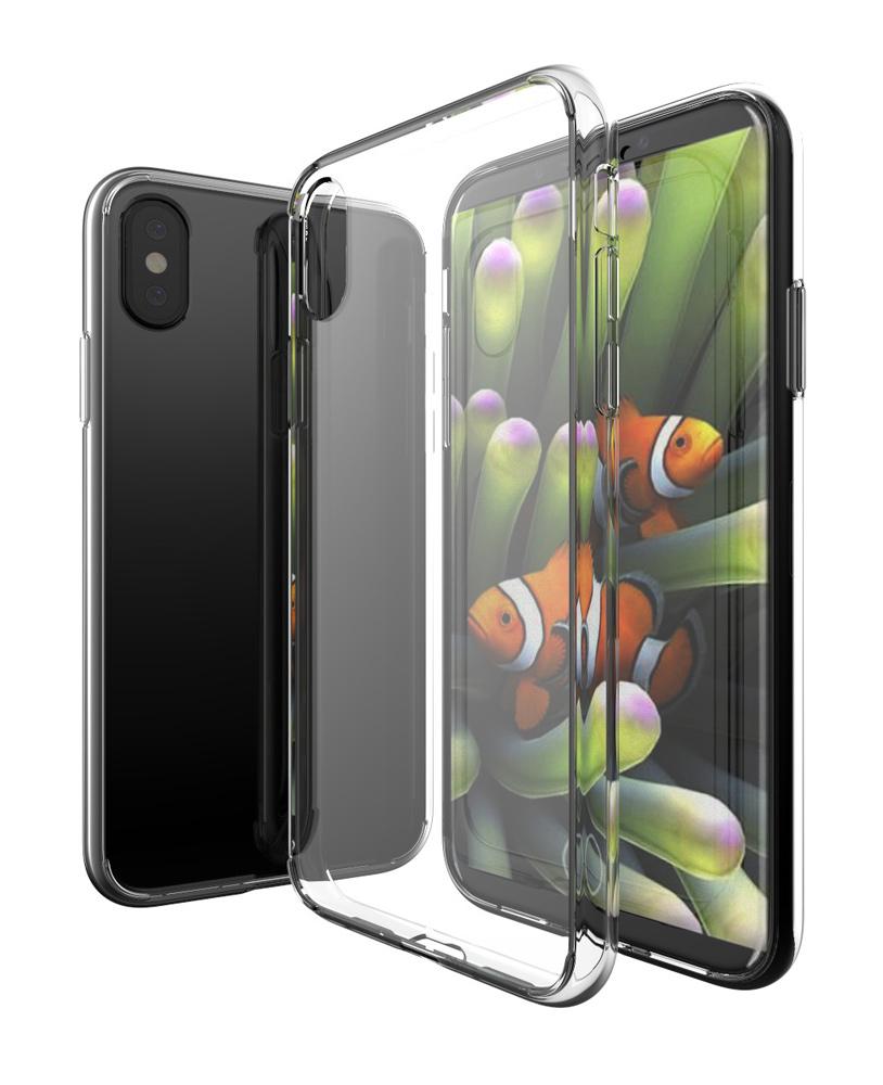 POWERTECH Θήκη Ultra Slim για iPhone XS, διάφανη - POWERTECH 22201