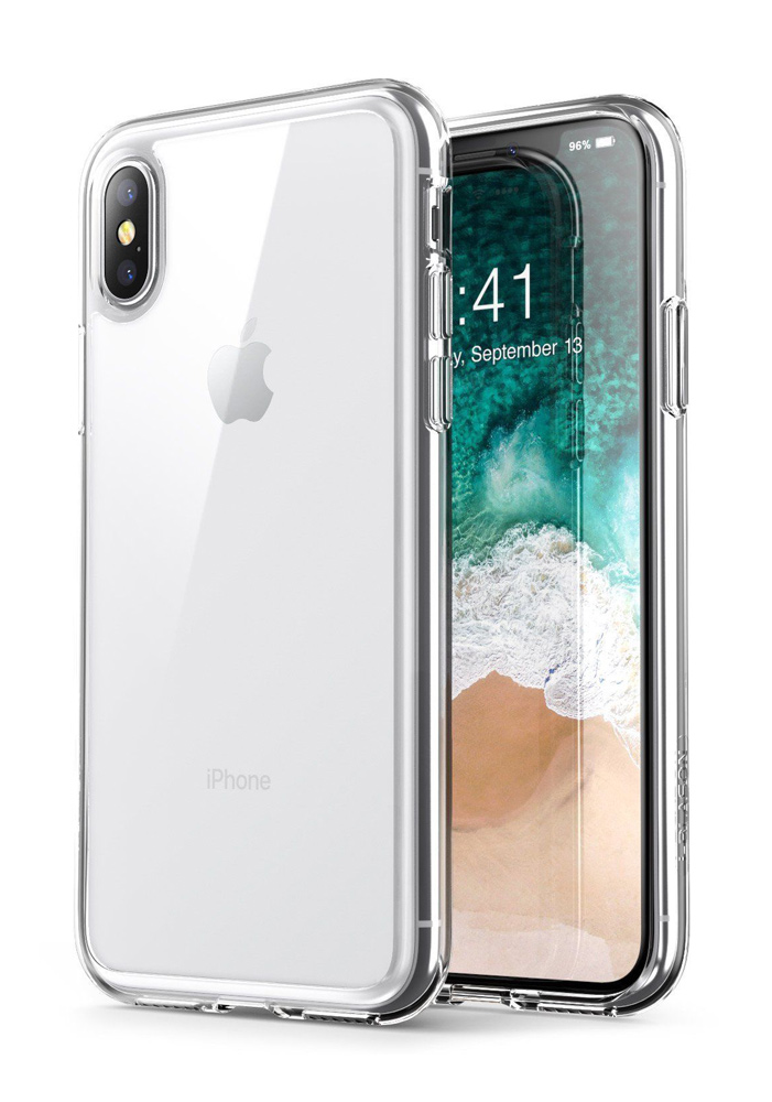 POWERTECH Θήκη Ultra Slim για iPhone XS Max, διάφανη - POWERTECH 22202