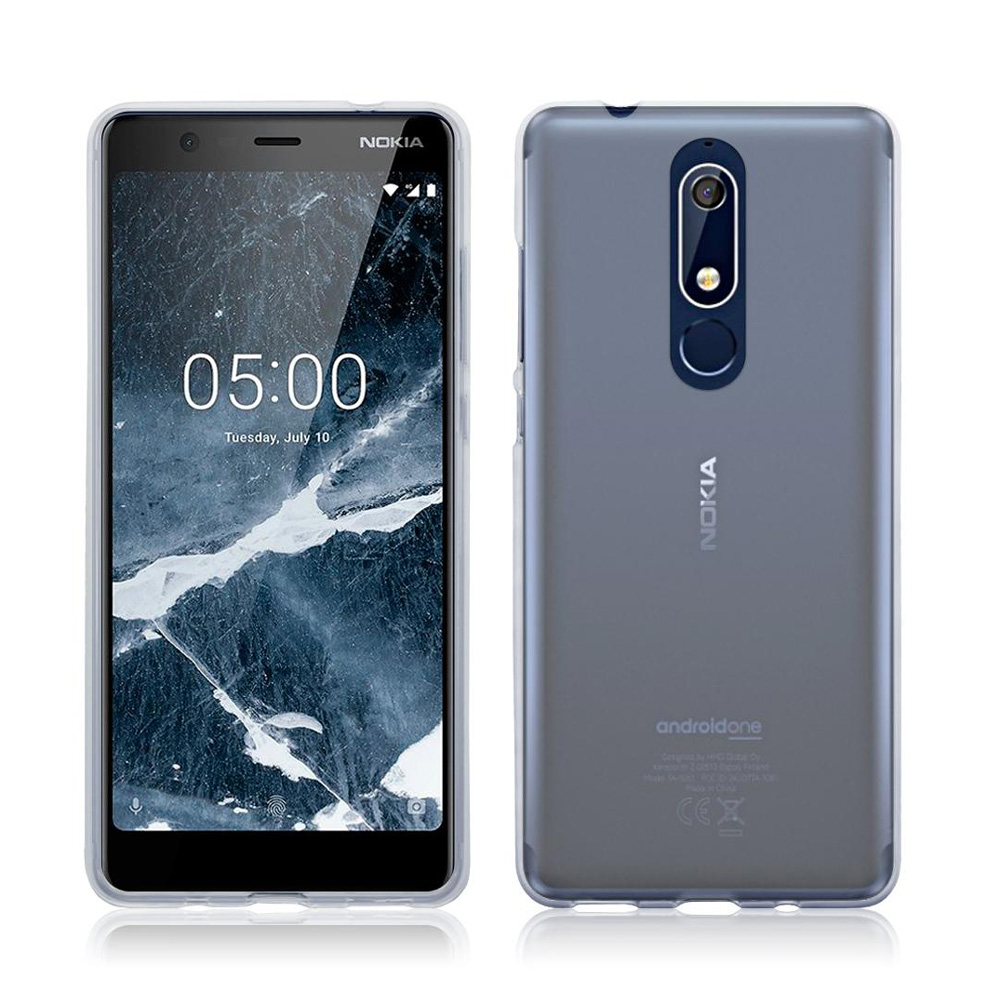 POWERTECH Θήκη Ultra Slim για Nokia 5.1, διάφανη - POWERTECH 22207