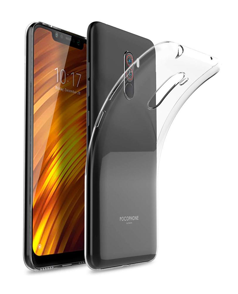 POWERTECH Θήκη Ultra Slim για Xiaomi Pocophone F1, διάφανη - POWERTECH 22210