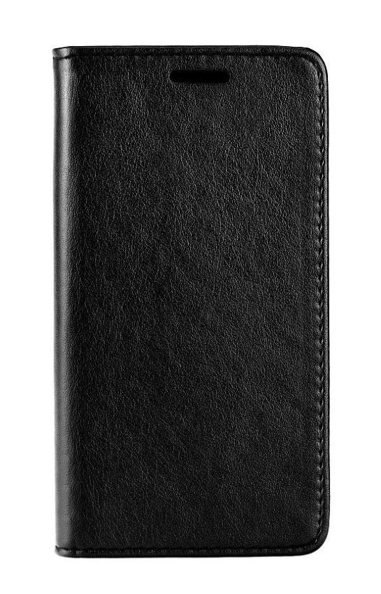 POWERTECH Θήκη Leather magnet για iPhone XR, μαύρη - POWERTECH 22218