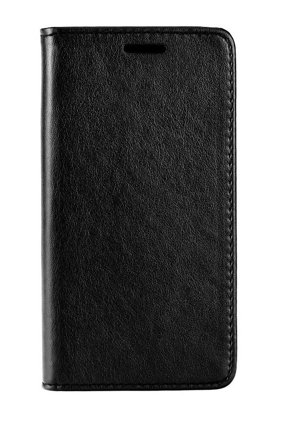 POWERTECH Θήκη Leather magnet για Samsung A8 2018, μαύρη - POWERTECH 22235