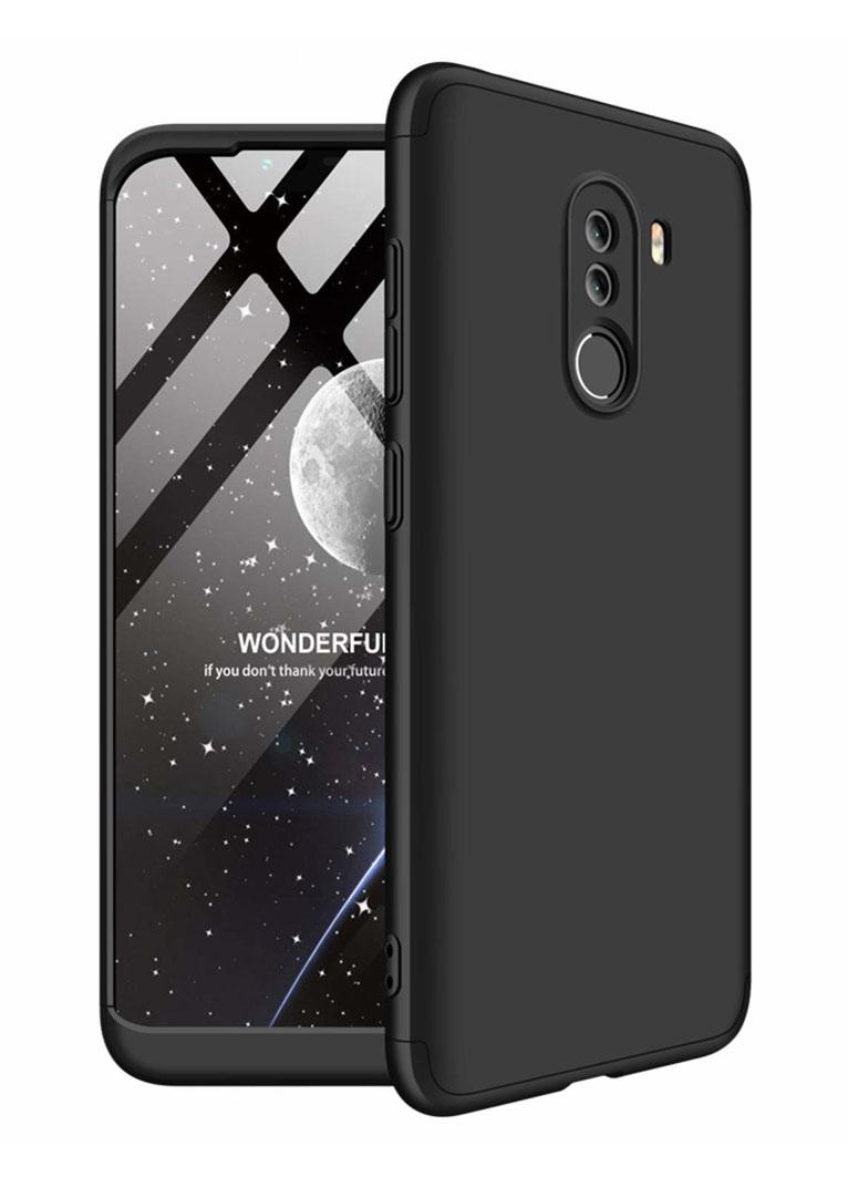 POWERTECH θήκη 360° Protect MOB-1187 για Xiaomi Pocophone F1, μαύρη - POWERTECH 22757
