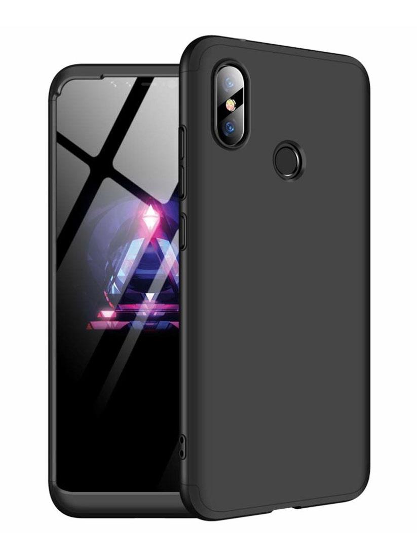 POWERTECH θήκη 360° Protect MOB-1192, Xiaomi Note 6 Pro, μαύρη - POWERTECH 22762