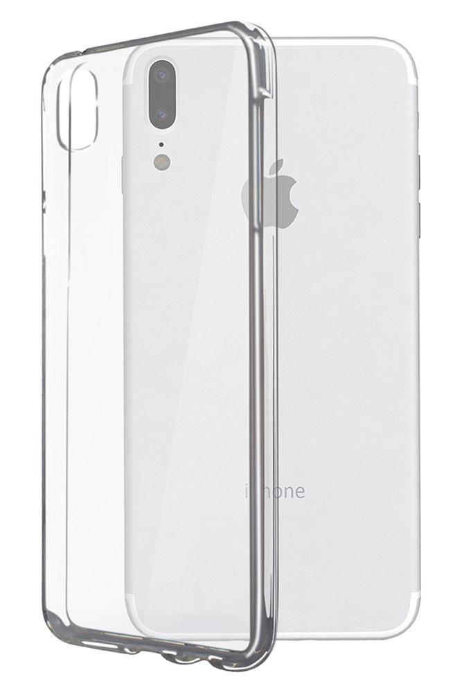 POWERTECH Θήκη Ultra Slim MOB-1193 για iPhone X, διάφανη - POWERTECH 22960