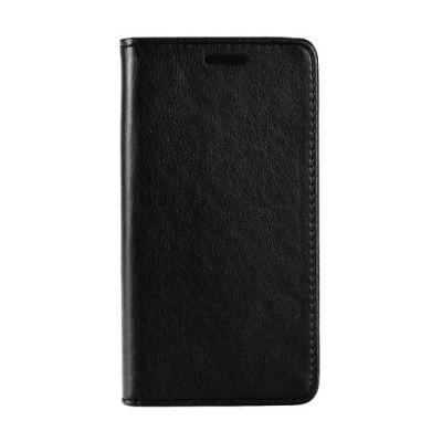 POWERTECH Θήκη Leather magnet MOB-1207 για iPhone 7/8 Plus, μαύρη - POWERTECH 22974