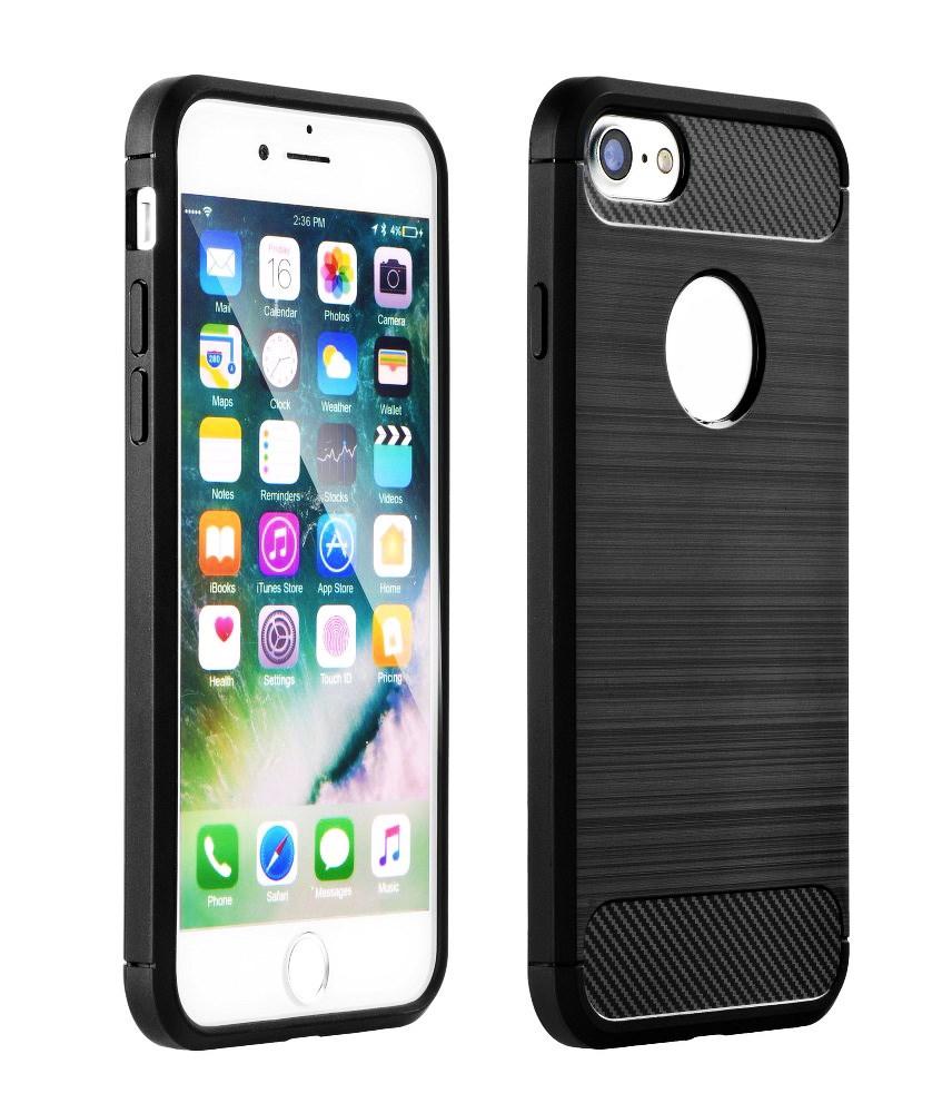 POWERTECH Θήκη Carbon Flex MOB-1226 για Huawei Honor 9 Lite, μαύρη - POWERTECH 23509