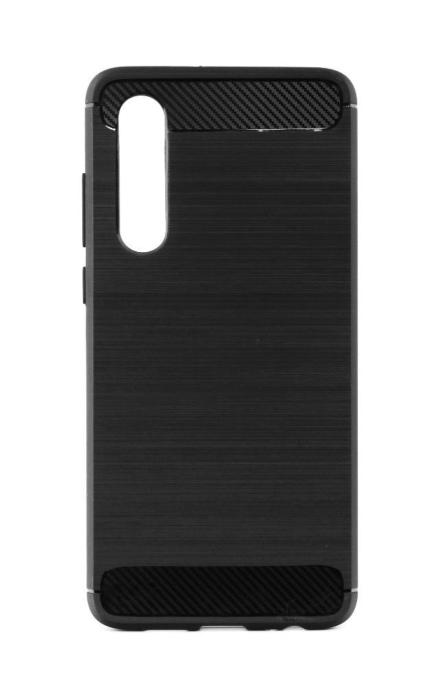POWERTECH Θήκη Carbon Flex MOB-1227 για Huawei P30, μαύρη - POWERTECH 23510