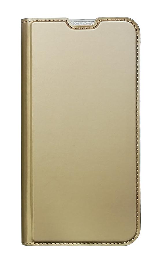 POWERTECH Θήκη Βook Elegant MOB-1462 για Huawei P30 Lite, χρυσή - POWERTECH 27472