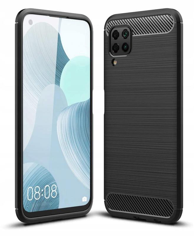 POWERTECH Θήκη Carbon Flex MOB-1493 για Huawei P40 Lite, μαύρη - POWERTECH 31072
