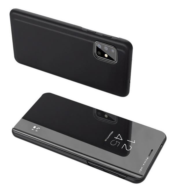 POWERTECH θήκη Clear view MOB-1508, Samsung S20, μαύρη - POWERTECH 31586