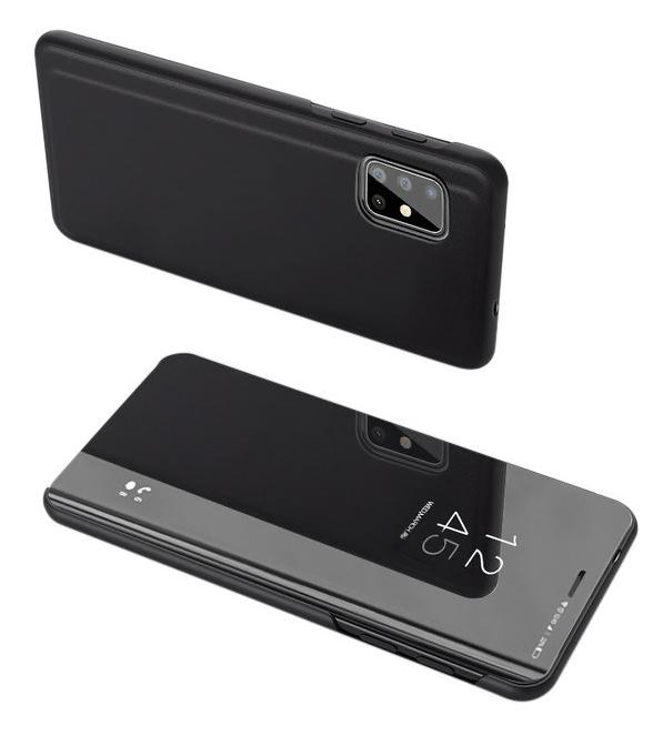 POWERTECH θήκη Clear view MOB-1510, Samsung S20 Plus, μαύρη - POWERTECH 31588