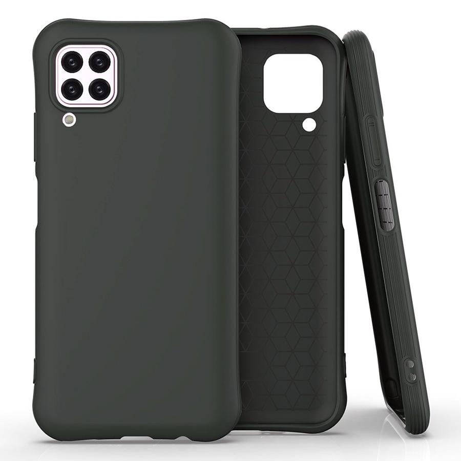 POWERTECH Θήκη Soft feeling MOB-1525, Huawei P40 Lite, μαύρη - POWERTECH 31603