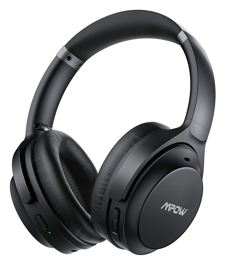 MPOW headphones H12 IPO BH427A, wireless & wired, ANC, BT 5.0, μαύρα - MPOW 42343