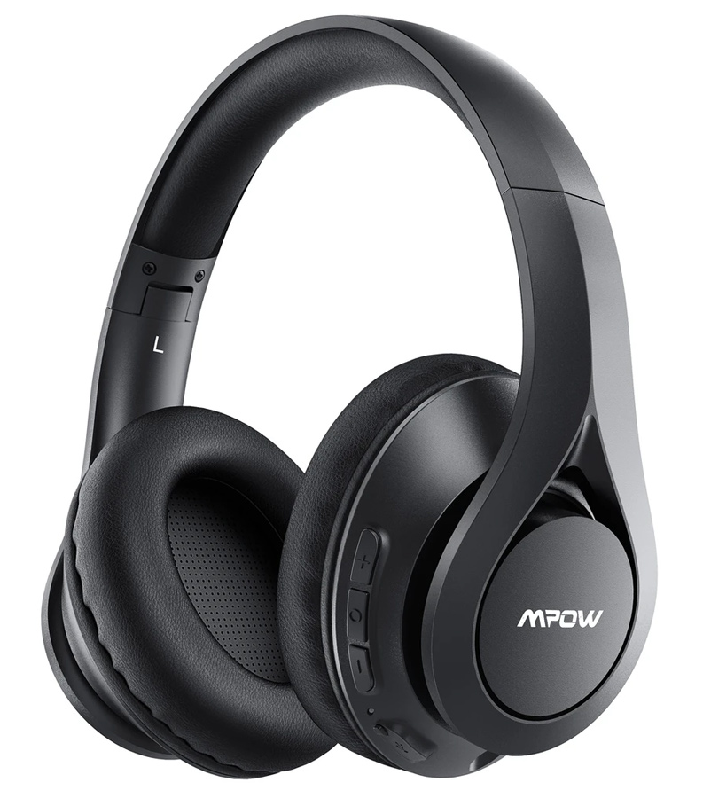 MPOW headphones 059 Pro/Lite, wireless & wired, 40mm, mic, μαύρα - MPOW 35843
