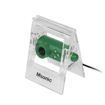 MSONIC Web Camera MR1803E 0.3MP, Green - MSONIC 9060