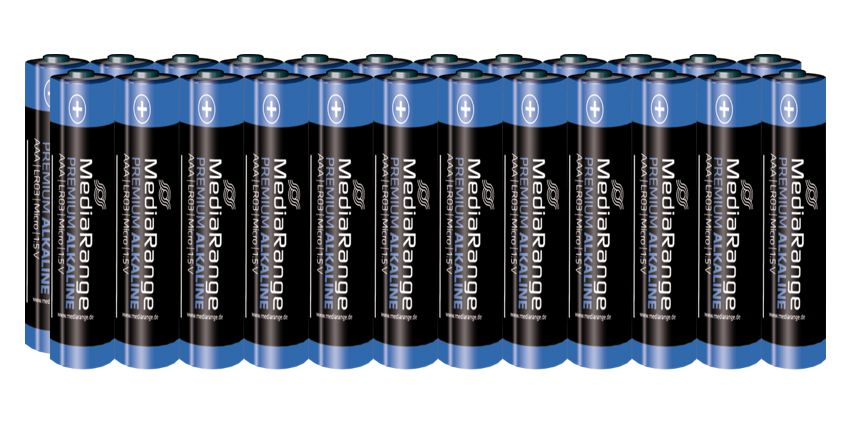 MediaRange Premium Αλκαλικές μπαταρίες τύπου AAA (LR03)  - 24 - MEDIARANGE 2927