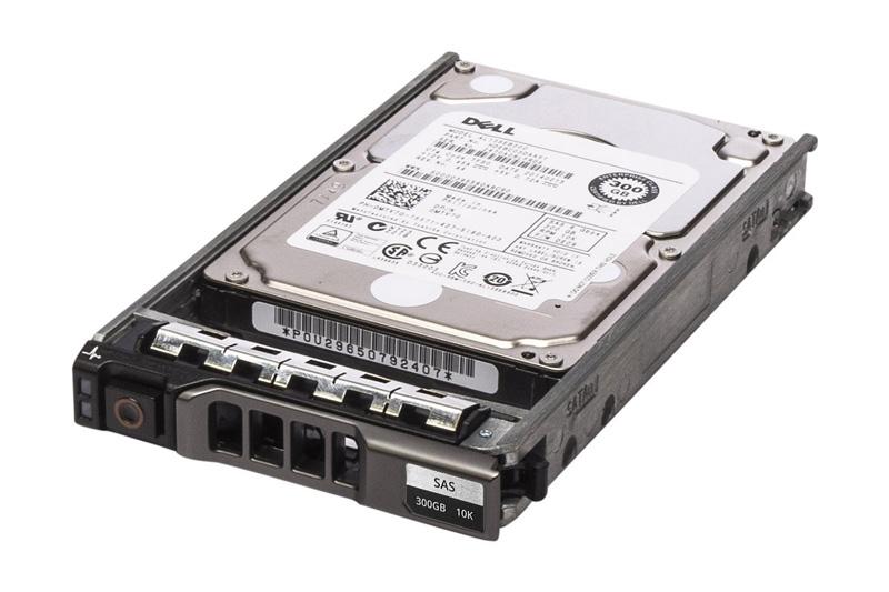 """DELL used SAS HDD MTV7G, 300GB, 10K, 2.5"""" με Tray - DELL 17239"""