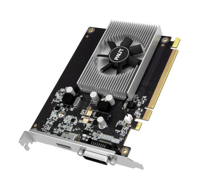 PALIT VGA GeForce GT1030, NE5103000646-1080F, GDDR5 2048MB, 64bit - PALIT 25230