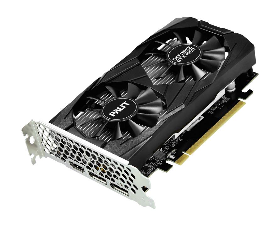 PALIT VGA GeForce GTX1650 Dual OC NE51650T1BG1-1171D, GDDR5 4GB, 128bit - PALIT 25228