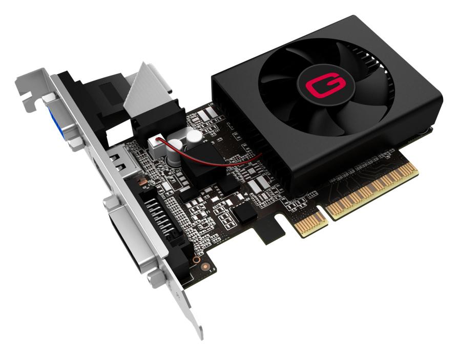 GAINWARD VGA GeForce GT 710 NE5T7100HD46-2087F, GDDR5 2048MB, 64bit - GAINWARD 27395