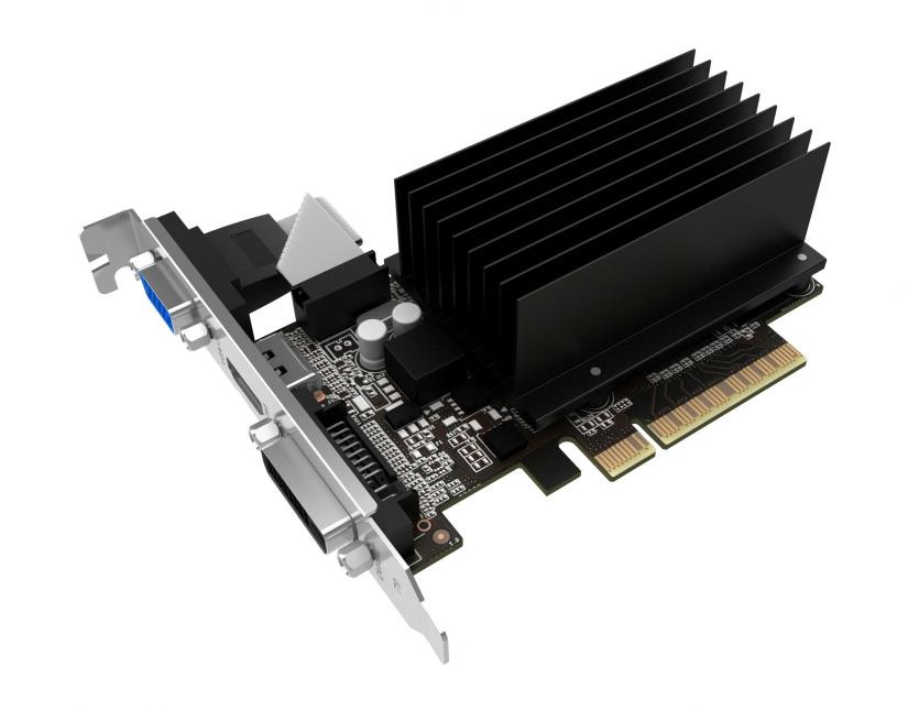 PALIT VGA GeForce GT710, NEAT7100HD46-2080H, sDDR3 2048MB, 64bit - PALIT 12185
