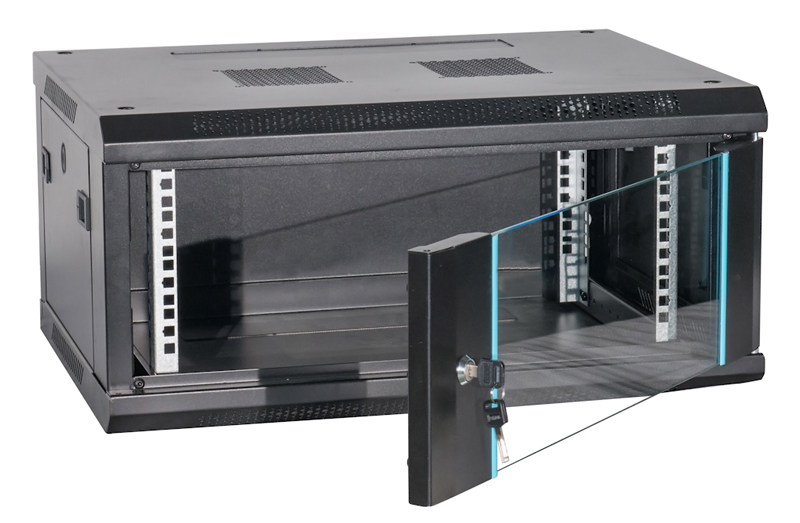 POWERTECH καμπίνα rack NETW-0016, 600 x 450 x 280mm, 4U - POWERTECH 37274