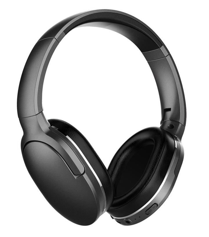 BASEUS bluetooth headphones ENCOK D02, wireless & wired, μαύρο - BASEUS 29403