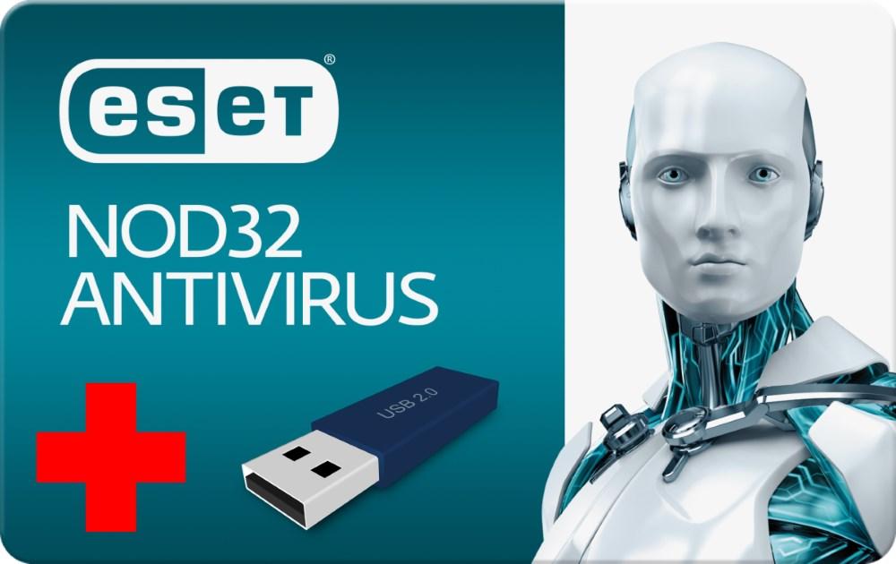 ESET NOD32 Antivirus 5 1U/1Y + USB 8GB - ESET 1278