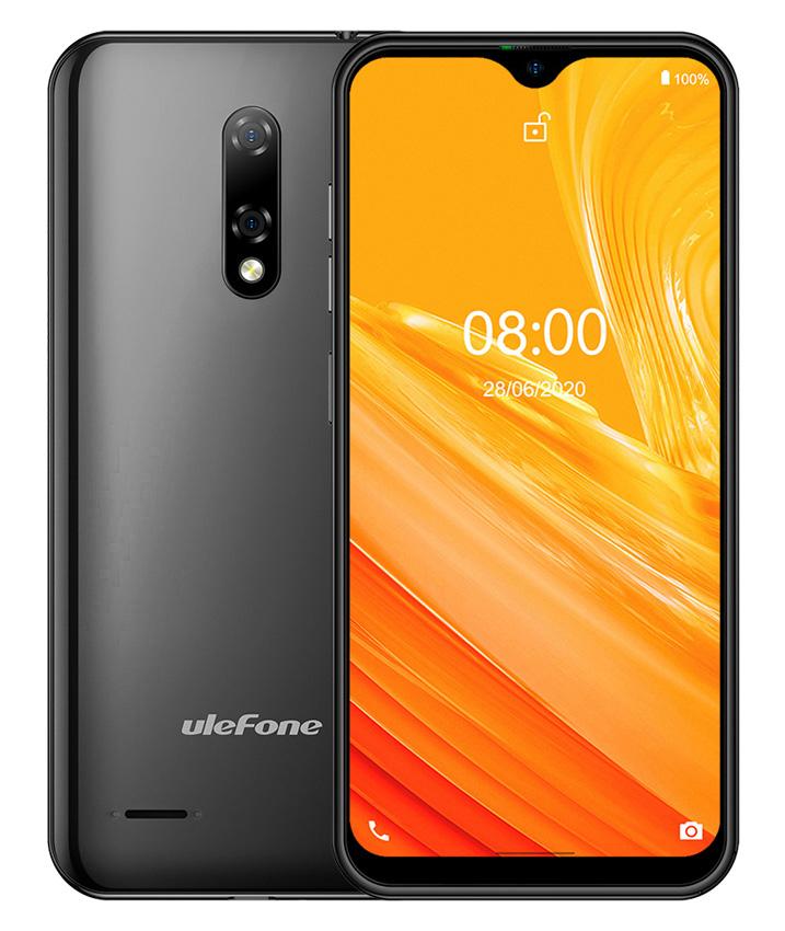 "ULEFONE Smartphone Note 8, 5.5"", 2/16GB, Android 10 Go Edition, μαύρο - ULEFONE 31528"
